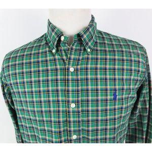 Ralph Lauren Large Custom Fit Shirt Button Front